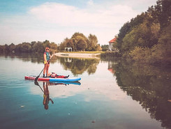 Moosandlweiher spot de stand up paddle en Allemagne