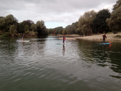 Moulin de Chelles spot de stand up paddle en France