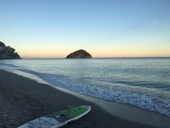 Bergeggi  sitio de stand up paddle / paddle surf en Italia