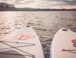 Chiemsee Bernau sitio de stand up paddle / paddle surf en Alemania