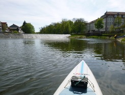 Fulda (from Rotenburg to Malsfeld) paddle board spot in Germany
