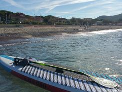 Arenes cros sitio de stand up paddle / paddle surf en Francia