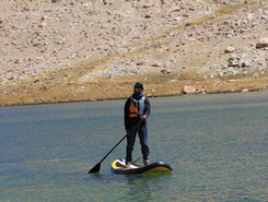 Lake Tsoltak sitio de stand up paddle / paddle surf en India