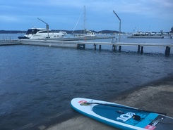 Toronto NSW Australia  paddle board spot in Australia