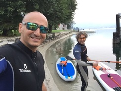Lago di Orta  paddle board spot in Italy