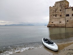 Follonica paddle board spot in Italy