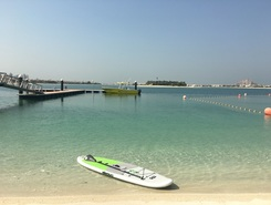 From Al Sufouh Beach to Burj al Arab paddle board spot in United Arab Emirates