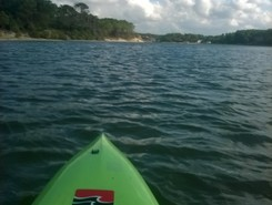 Lac de vieux boucau spot de stand up paddle en France