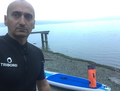 Lago di Viverone sitio de stand up paddle / paddle surf en Italia