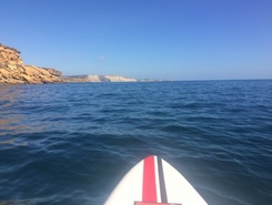 Burgau spot de stand up paddle en Portugal