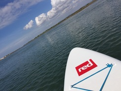 Praia de faro, ria formosa  sitio de stand up paddle / paddle surf en Portugal