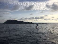 Arinaga paddle board spot in Spain