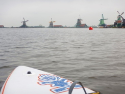 Zaanse Schans paddle board spot in Netherlands