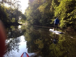 Amsterdamse bos spot de stand up paddle en Pays-Bas