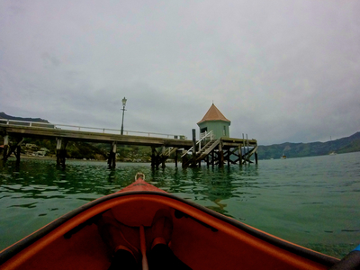 Akaroa Harbour & Bays paddle board spot in New Zealand