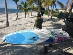 Buenaventura paddle board spot in Panama