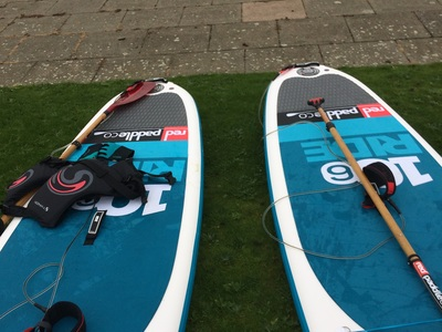 Southport marine lake spot de stand up paddle en Royaume-Uni