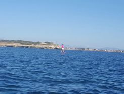 capo mannu, Mandriola paddle board spot in Italy