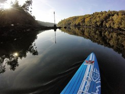 Fleuve de l'odet paddle board spot in France