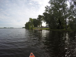 Gryfino paddle board spot in Poland