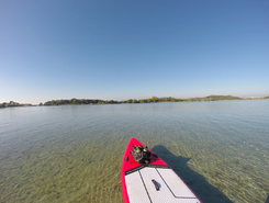 Archipel des Embiez paddle board spot in France