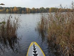 Offlumer See paddle board spot in Germany