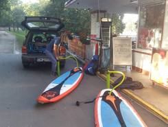 ZaZoo spot de stand up paddle en Pologne