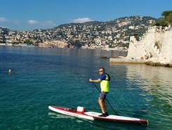 Passable paddle board spot in France