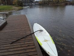 st aignan paddle board spot in France