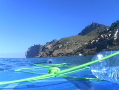 Cala Sant Vicenç paddle board spot in Spain