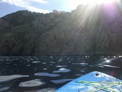 Cala Agulla paddle board spot in Spain
