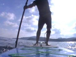 Cala Torta paddle board spot in Spain