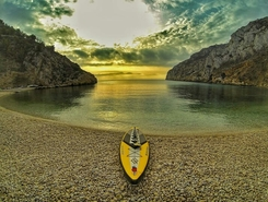 Javea paddle board spot in Spain