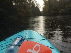 Amsterdamse bos paddle board spot in Netherlands