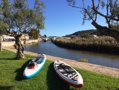 Silves paddle board spot in Portugal