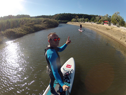 Clube Nautico Silves paddle board spot in Portugal
