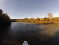Clube Nautico Silves spot de stand up paddle en Portugal