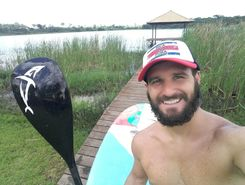 Pereira Barreto paddle board spot in Brazil
