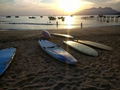 Boca da Barra sitio de stand up paddle / paddle surf en Brasil