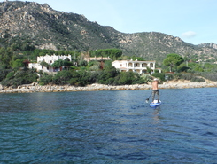 villagio mandorli paddle board spot in Italy