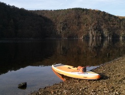 Slapy - Živohošť paddle board spot in Czech Republic