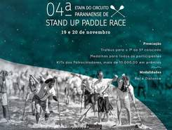 4 Etapa do Circutio Paranaense de SUP Race paddle board spot in Brazil