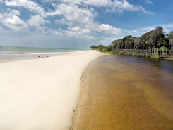 Trancoso / Bahia paddle board spot in Brazil