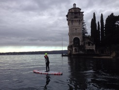 Casinò spot de stand up paddle en Italie