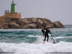Playa Cantal Roig paddle board spot in Spain