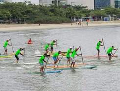 Calibre SUP Race sitio de stand up paddle / paddle surf en Brasil
