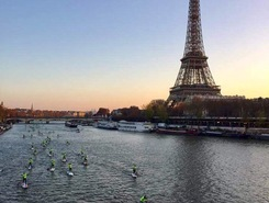 PARIS NAUTIC SUP CROSSING 2015 spot de SUP em França