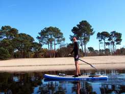 Lac de Lamothe spot de stand up paddle en France