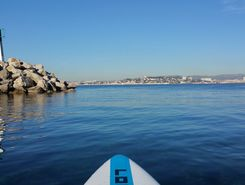 Pointe Rouge paddle board spot in France