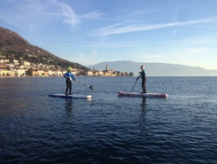 Salò paddle board spot in Italy